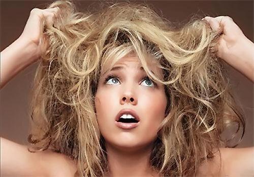 Сухие ослабленные волосы