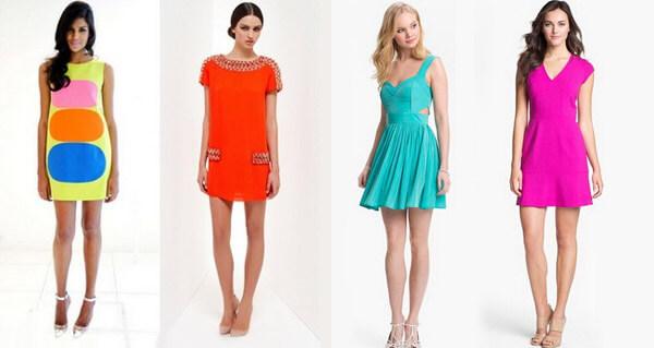 Летние платья яркие фото