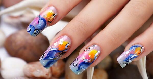 наращенные ногти (фото)