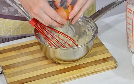 Клёцки для супа из жидкого теста