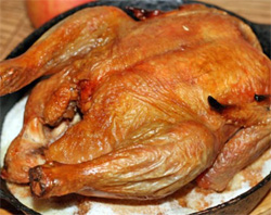 рецепт курицы с лимоном хрустящей корочкой в духовке