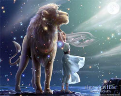 Лев-мужчина отличается силой и дружелюбием